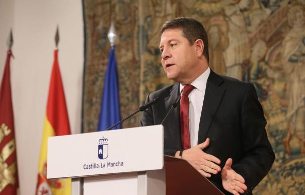 Emiliano García-Page, encuentro con medios