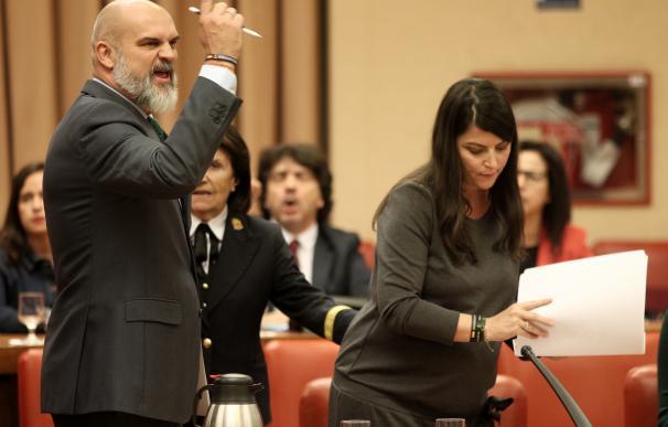 El diputado de VOX en el Congreso, Víctor Sánchez del Real