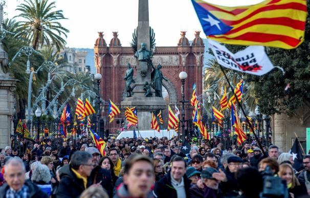 Parlament manifestación