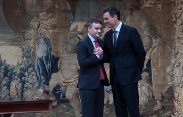 Iván Redondo y Pedro Sánchez en Moncloa