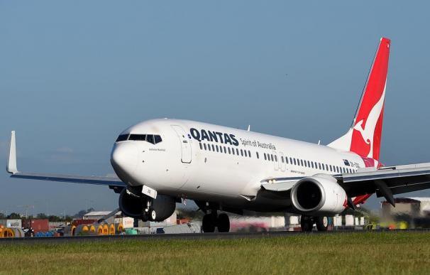 Qantas alertó de la decisión tras el hallazgo de varias fracturas. /EPA-EFE