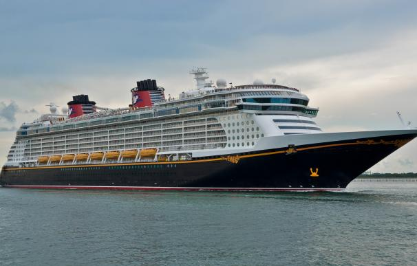 Fotografía de uno de los cruceros de Disney,