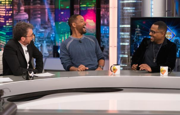 Will Smith y Martin Lawrence en 'El Hormiguero'. /L.I.