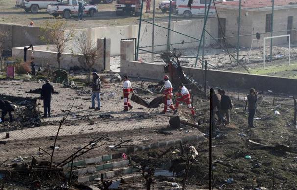 Accidente avión ucraniano en Teherán