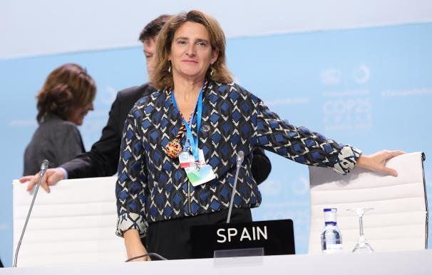 La vicepresidenta de Transición Ecológica y Reto Demográfico, Teresa Ribera