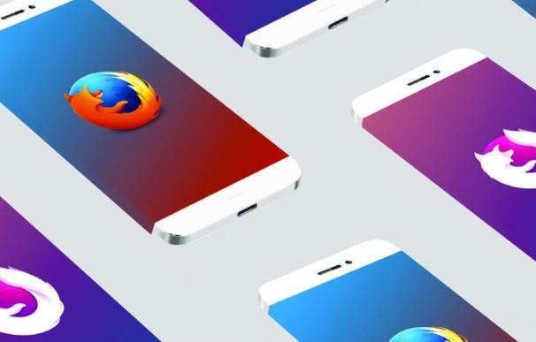 Navegador Firefox para móvil Android