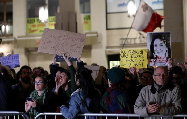 Malta protestas Daphne Caruana