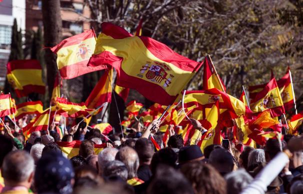 Manifestación 'España Existe'