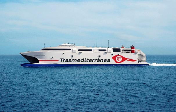 La tripulación del buque detectó la presencia del inmigrante. /Armas Trasmediterranea