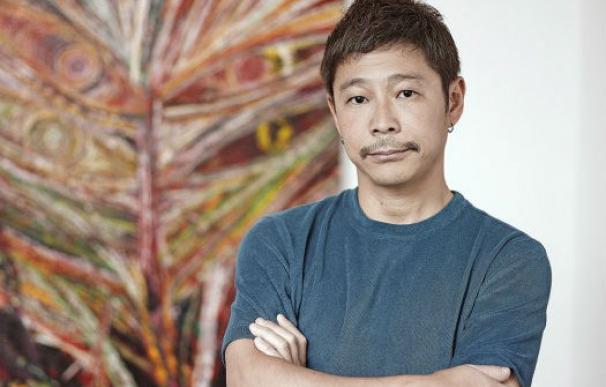 El multimillonario Yusaku Maezawa