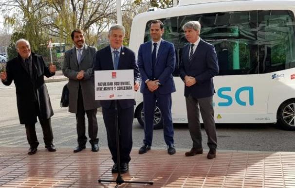 Autobus autonomo Alsa UAM