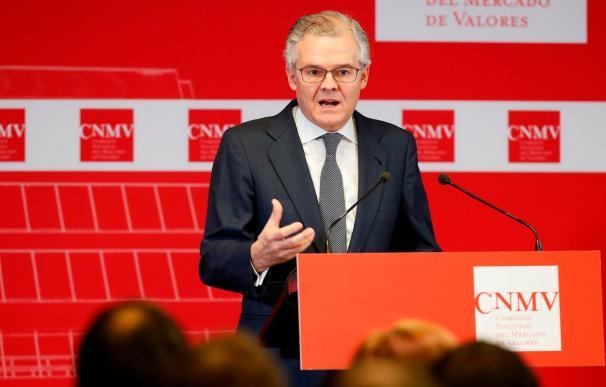 El presidente de la CNMV, Sebastián Albella. /EFE