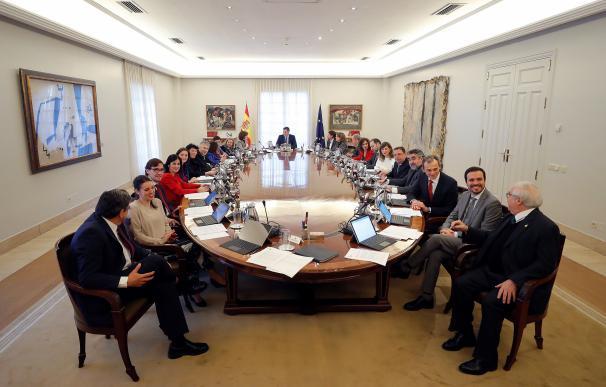 Ministros Moncloa. / EFE