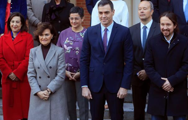 Fotografía foto de familia nuevo Gobierno / EFE