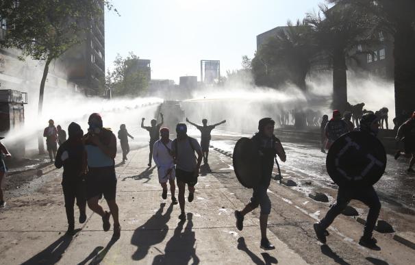 Disturbios en Chile. / EFE