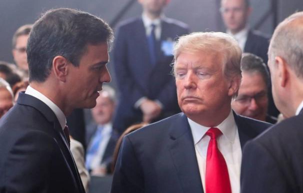 Trump avisa a Sánchez con aranceles si España activa la tasa Google en solitario