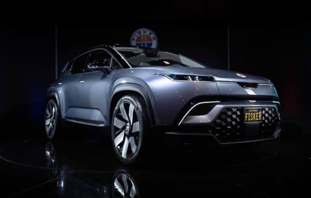 El SUV Fisker Ocean de BMW presentado en el CES. /L.I.
