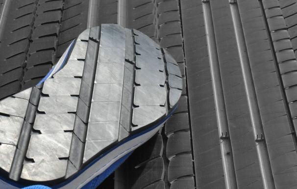 Gomavial trabaja los neumáticos para varios productos./L.I.