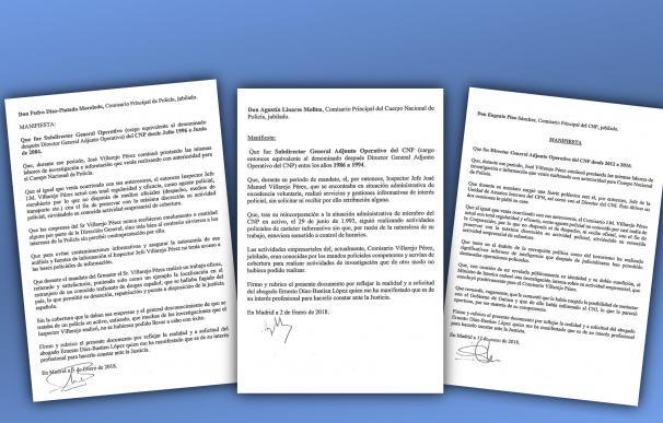 Cartas DAO Policía