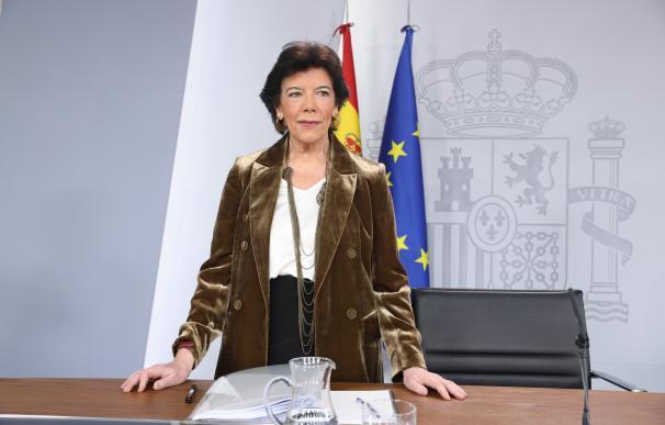 Isabel Celaá, ministra de Educación y Formación Profesional