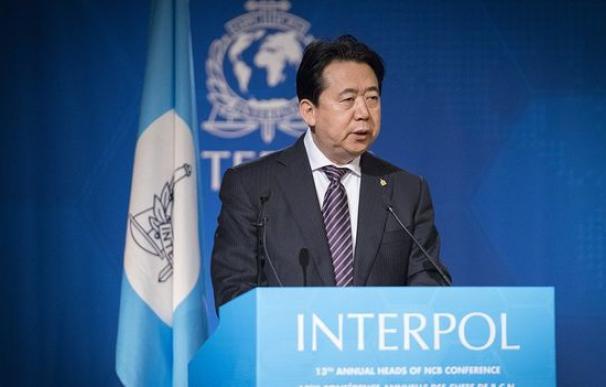 Meng Hongwei era considerado un peso pesado del Partido Comunista Chino. (@INTERPOL_HQ)