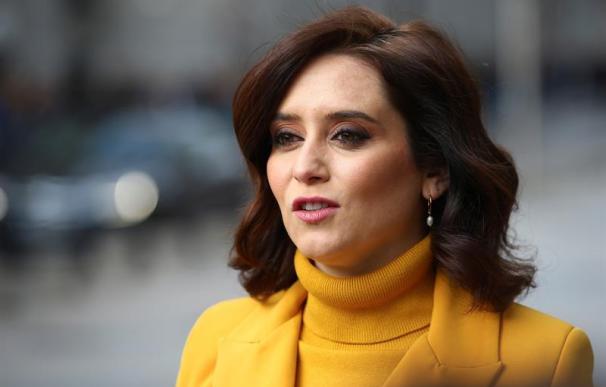 Isabel Díaz Ayuso, día de la Constitución