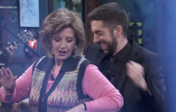 El baile de David Broncano y María Teresa Campos