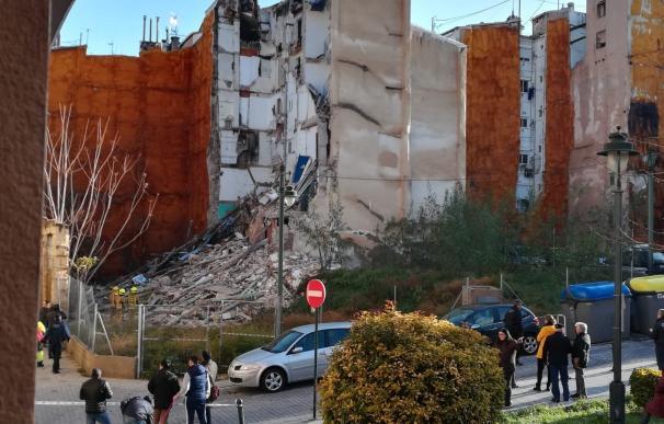 Derrumbe edificio Alcoy