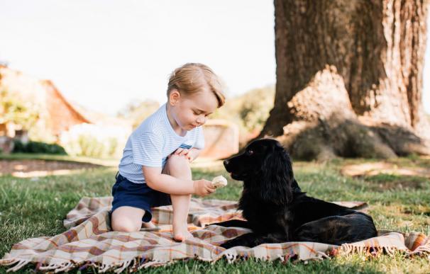 El príncipe George cumple tres años... estos son sus mejores momentos