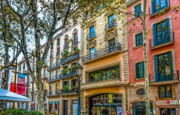 Edificio de pisos en Barcelona