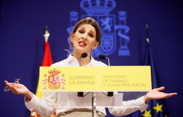 Fotografía de Yolanda Díaz (SMI) / EFE