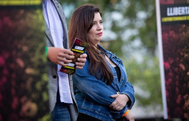 La activista de los CDR Tamara Carrasco