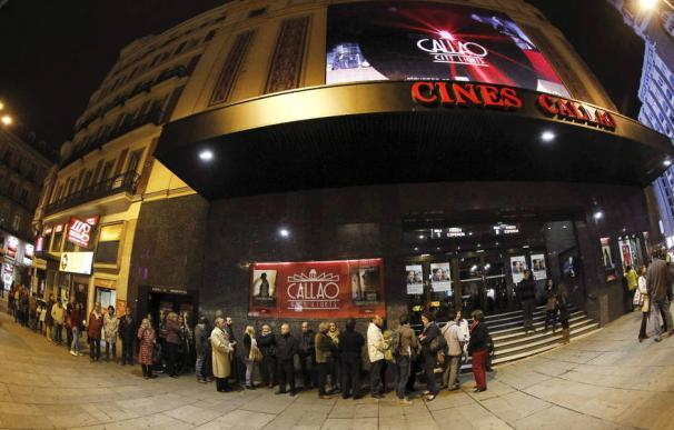 La recaudación del cine español sube un 3% hasta mediados de septiembre