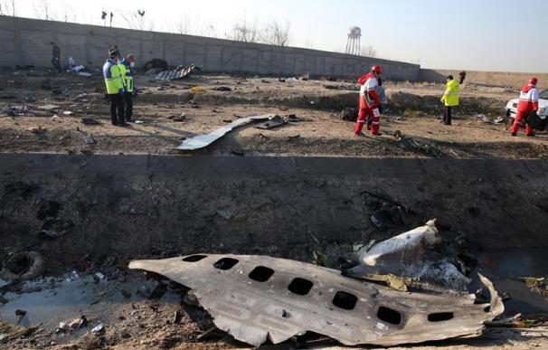 Accidente avión Teherán