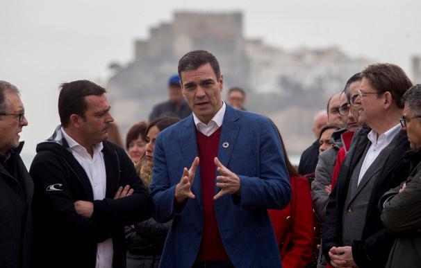 Pedro Sánchez visita las zonas afectadas por 'Gloria'