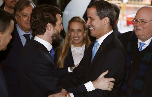 Casado y Guaidó