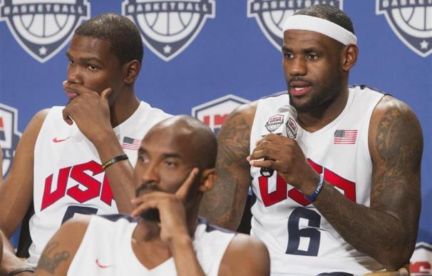 Kobe Bryant y LeBron James vuelven con EEUU para los Juegos