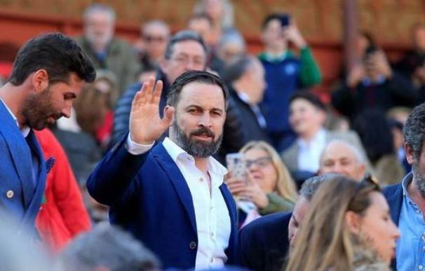 El presidente de Vox, Santiago Abascal. /EFE
