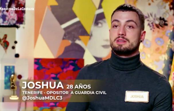 Joshua, tinerfeño de 28 años y aspirante a guardia civil. /L.I.