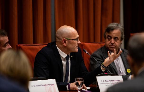 Raul Romeva Comisión 155 Parlament