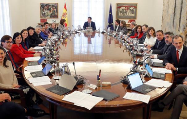 Consejo de Ministros ancha