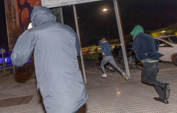 Afganos detenidos violación Murcia