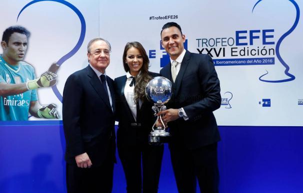 Keylor Navas y su mujer, Andrea Salas, crean una inmobiliaria en España