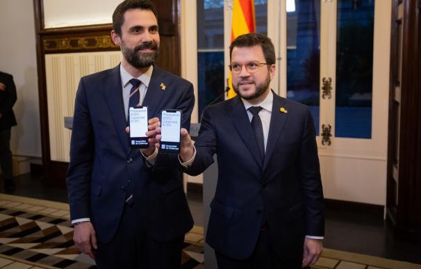Aragones presupuestos Cataluña
