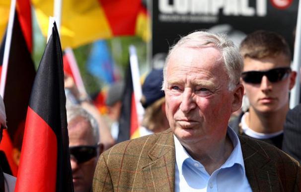 Alexander Gauland durante una marcha del partido Alternativa para Alemania (AfD) en Berlin./EFE/OMER MESSINGER