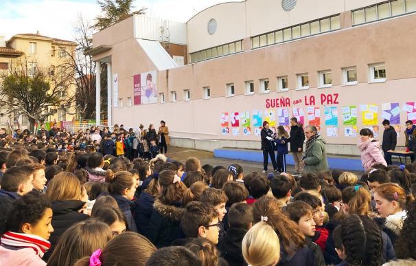 Acto día de la Paz en Escolapias