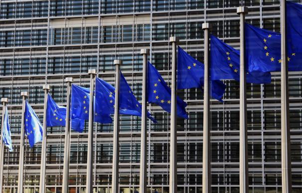 Banderas de la Unión Europea fuente EFE