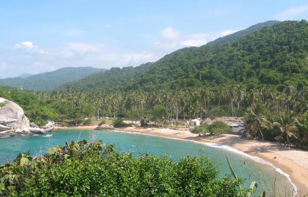 Fotografía de la Playa del Cabo San Juan en Colombia.