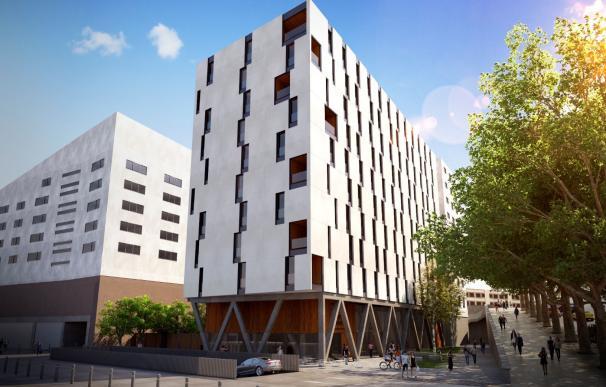 Futuro apartahotel en Vitoria junto al Campus de la UPV/EHU