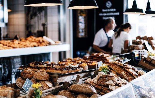 Panadería de un supermercado